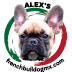 Criadero Alex's French – Bulldog Logo